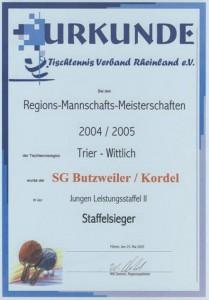 Jugend Meister 04/05