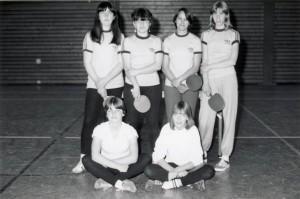 Mädchenmannschaft 81/82